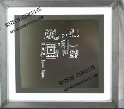 SMT Assembly Stainless Stencil manufacture PCB solder paste Etched / Laser Cut