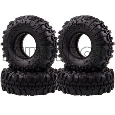 """4x 1.9""""  Supper Swamper Rocks Tyre Tires 7035 For RC 1/10 Climbing Rock Crawler"""