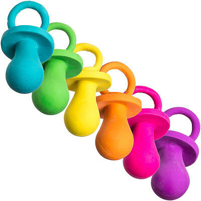 """Puppy Pacifier Dog Toy 4"""" Latex"""