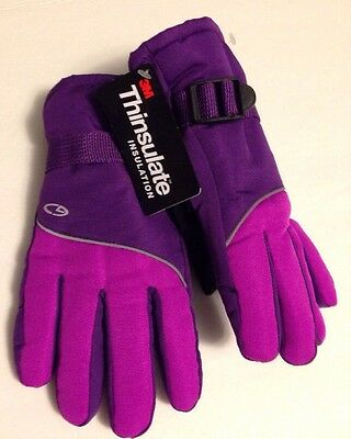 Girls Champion Ski hinsulate Insulation Gloves 4/7