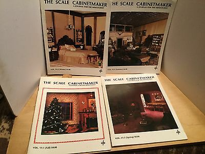 The scale cabinetmaker,by the Dorsetts,volume 6-1 thru 6-4,VGC
