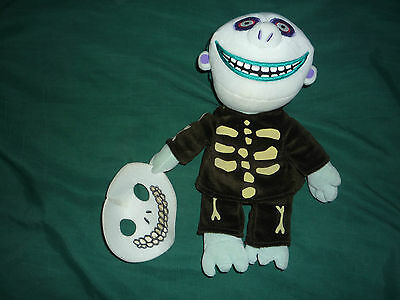 Nightmare Before Christmas X Small Barrel- Disney Store Exclusive Bean Plush