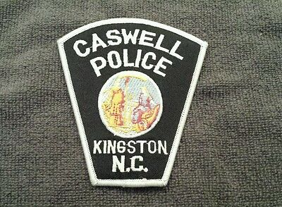 Caswell-Kingston North Carolina Police Shoulder Patch