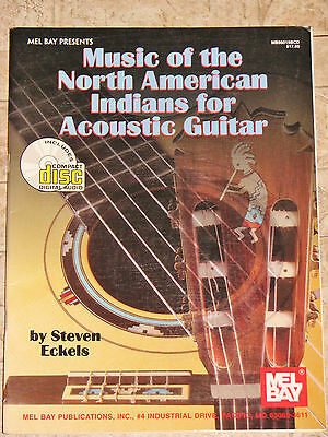 Mel Bay Music of the North American Indians for Acoustic Guitar Book/CD Eckels