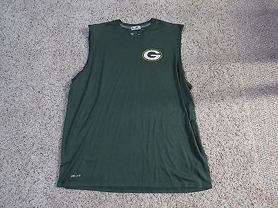 David Bakhtiari Green Bay Packers Nike Dri Fit Game Used / Worn Shirt - 2XL
