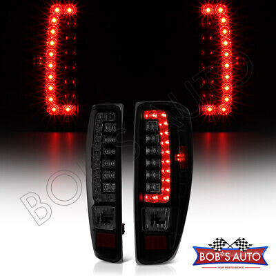 2004-2012 Canyon Colorado [High Power] Black Smoke LED Tail Lights Brake Lamps