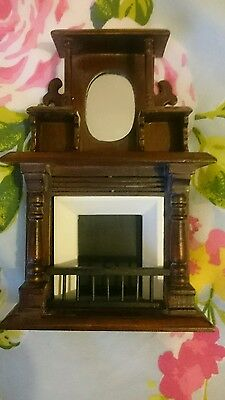 12th scale dolls house fireplace