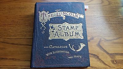 The Lincoln Stamp Album (1911): Mxed Lot Of World Stamps - 900 Very Old Stamps.