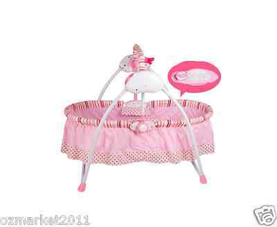Security Pink Automatic Baby Music Swing Chair/Electric Rocking Chair LM