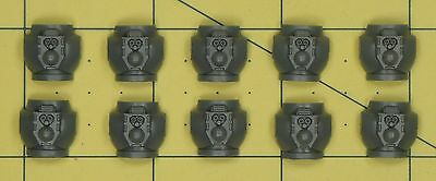 Warhammer 40K Space Marines Tactical Squad Torso Backs
