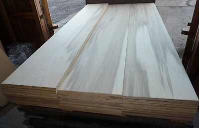 5 Pieces of NEW 15mm Beech Marine Grade Hardwood Plywood 8ft x 16½in
