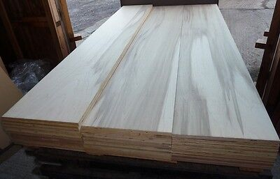 10 Pieces of NEW 15mm Beech Marine Grade Hardwood Plywood 8ft x 16½in