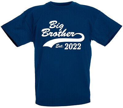 Big Brother Est 2017/18 T-Shirt, Gifts for new brothers gift ideas, baby shower