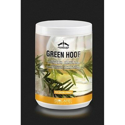 Veredus Bio Care GREEN HOOF Ointment Grease Lanolin Thyme Oil Stimulates Growth