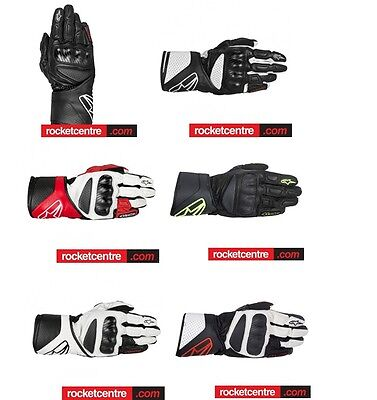Alpinestars Sp-8 Sp8 Motorcycle Leather Gloves Sale Motorbike Protection Colours