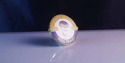 Leeds United - Legend  Rare Paul Reaney  Badge