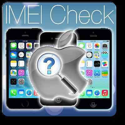 Fast iPhone IMEI check Country Network & Carrier Check Sim lock & ICloud status