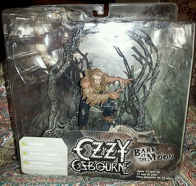 Ozzy Osbourne `Bark At The Moon` Action Figure Mcfarlane Toys NUOVO (Unopened)