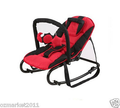Fashion Security Red Comfortable Baby Swing Chair/Baby Rocking Chair JY