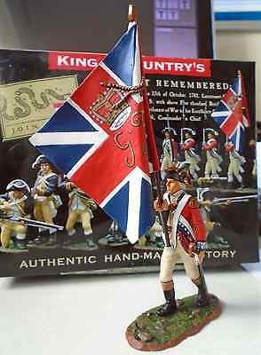 King And Country American War Of Independence Br35 King's Colour