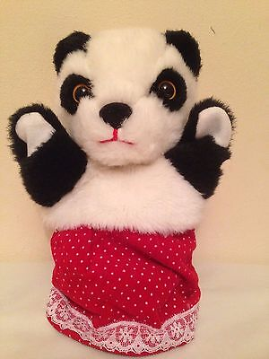 The Sooty Show SOO SUE Panda Hand Puppet 9'' tall