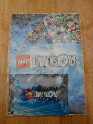 Lego Dimensions Pack Of 8 Cards + Character Cards Album - New & Sealed