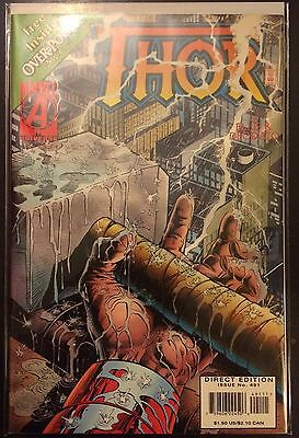 Thor (Vol 1) #491 VF+ 1st Print Free UK P&P Marvel Comics