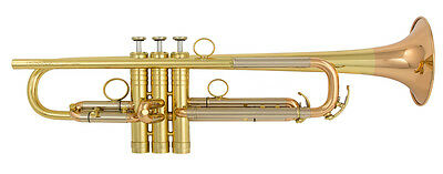 Geneva Joshol Professional Bb Trumpet with Case and mouthpiece