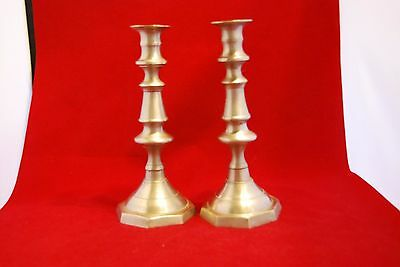 A Pair of Pewter? CANDLESTICKS