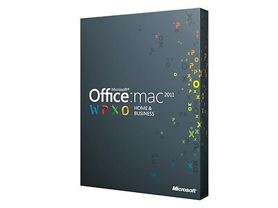 Office Home and Business 2011 pour Mac Multilingue