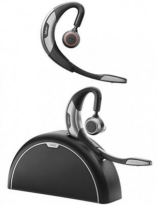 Jabra Motion Bluetooth UC Headset with Travel and Charge Kit 6640-906-102