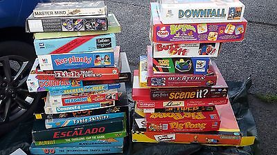 Collection Of Vintage Board Games., ( Over 100 Games )