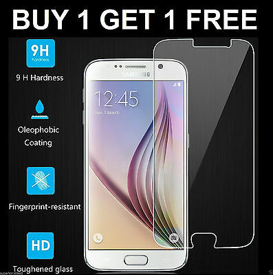 100% Genuine Tempered Glass LCD Screen Protector Film For Samsung Galaxy S6