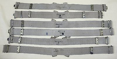 Ww2 British Army-Military Belt Canvas. 1942-43 (Price For One)