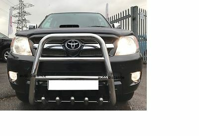 TOYOTA Hilux High Bull Bar Nuge Bar S.Steel 2007-2010