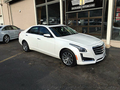 2016 Cadillac CTS 4dr Sedan 3.6L Luxury Collection AWD Heated and Cooled Leather Seats  Navigation  Back Up Camera  Moonroof  Bluetooth