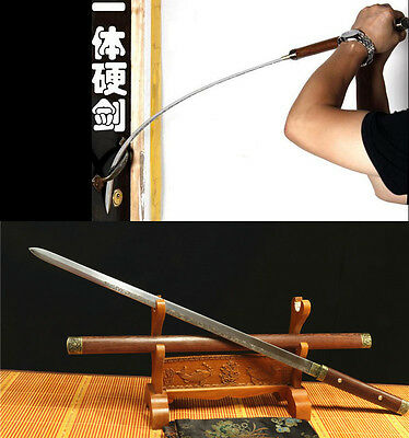 1095 High Carbon Steel  Can  Cut Thin Flexible Wire Hand Made Japanese Sword