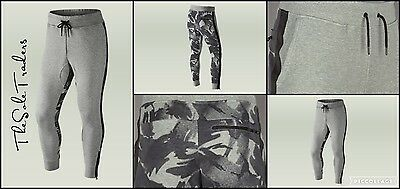Mens Nike F.C Libero French Terry Bottoms/Pants 719539 063 Grey Camo Sizes: S_XL