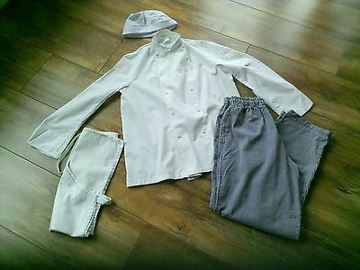 Chef Jacket, Trousers, Apron and Hat Russums
