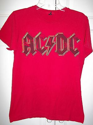 AC/DC-T Shirt-Adult Small