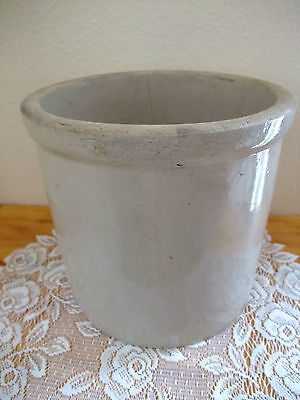 Vintage Red Wing MN One (1) Gallon Crock NO Bottom Marked 7 1/2""