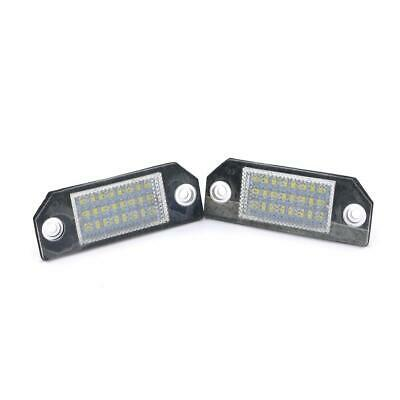 Led Para Placa de matrícula Luz Lámpara For Ford Focus Mk2 2 C-Max Mk1 St 03-10