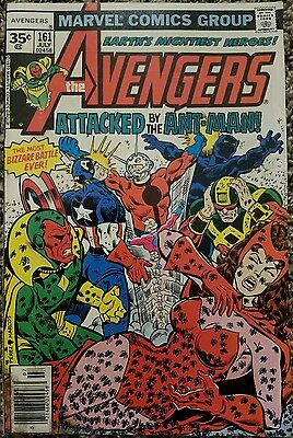 The Avengers 161 35 Cent Variant July 1977 Marvel Comics High Grade Marvel Rare