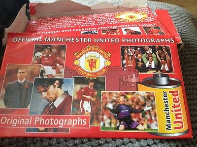 90,s official man united photos 22pksx8 photos unopened