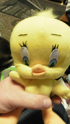 tweety pie cuddly toy 9 inch play by play with labels