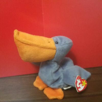 1996 SCOOP (CHINA) PVC Beanie Baby, MWMT with CANADIAN TAGS