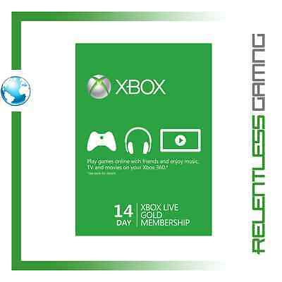Xbox live 14 Days (2 Week) Gold Trial Membership  | Instant Delivery 24/7!