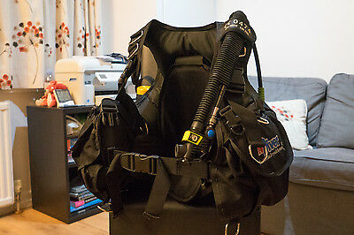 Northern Diver Guardian BCD with emergency cylinder and air horn - Size XL