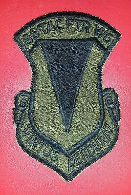 USAF 86th Tactical Fighter Wing Patch