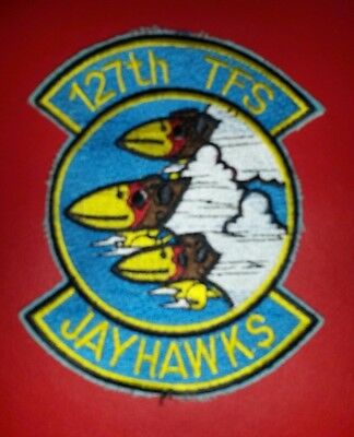 USAF 127th Tactical Fighter Squadron Patch